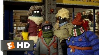 Shaun The Sheep Movie  2015    Sheep In Human Clothing Scene  3 10    Movieclips
