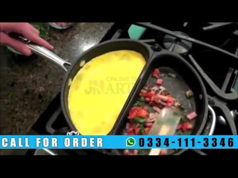 Non-Stick Folding Omelet Pan 0334-111-3346