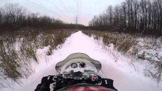 4. Polaris Super Sport 550 Trail Ride Part 1