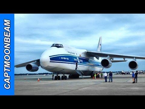 Two Antonov An-124 Ruslan four...