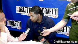 Tristan Thompson - 2011 NBA Draft - Media Day Interview