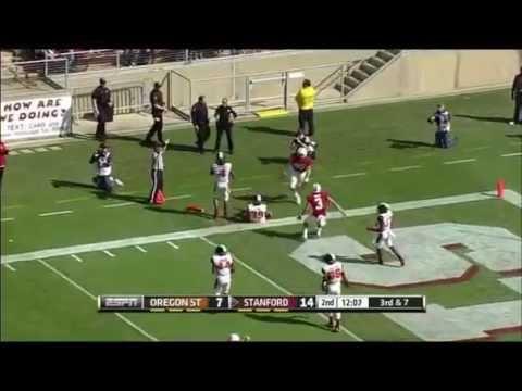 Steven Nelson Game Highlights vs Stanford 2014 video.