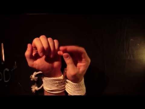 Tuto : self-bondage simple et facile