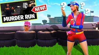 MURDER RUN IN FORTNITE!! (Playground LTM) | Fortnite Battle Royale - Hide & Seek