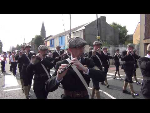 Regimental - UVF Regimental Band - 12th July Morning Belfast 2013.