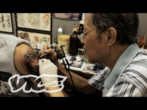 tattoo - With his traditional Chinese/Japanese patterns, Jimmy Ho, now in his sixties, remains one of the coolest and most forward thinking tattooists in Hong Kong. ...