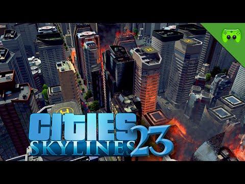CITIES SKYLINES # 23 - Doppel Dounat «» Let's Play Cities Skylines   HD60