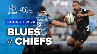 Blues v Chiefs Rd.1 2020 Super rugby video highlights | Super Rugby Video Highlights