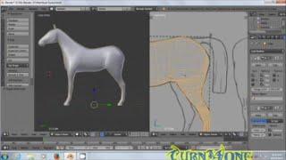TimeLapse Modeling Horse Part1