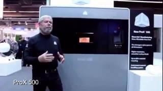 נשיא 3D Systems הישראלי מסביר אודות PROX 500