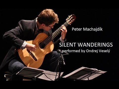 SILENT WANDERINGS (2012) for guitar (Classical Music / Minimal Music / Modern Classical )  現代音楽