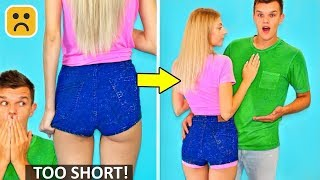 Video 10 Girl Fashion Hacks and Cool Summer Outfit DIY MP3, 3GP, MP4, WEBM, AVI, FLV September 2019