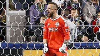 Seattle Sounders FC goalkeeper Stefan Frei speaks to media following the club's 1-1 draw with Orlando City SC. SUBSCRIBE for...