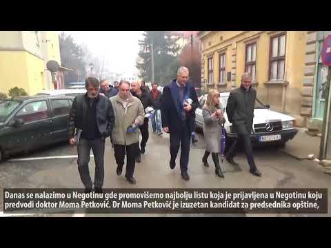 Шутановац у Неготину: Заокружите број 2 за промене! (16.12.2017)
