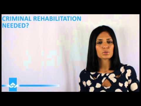 Do you Qualify for Criminal Rehabilitation Video