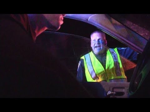 Student records interaction with cops during July 4th DUI checkpoint