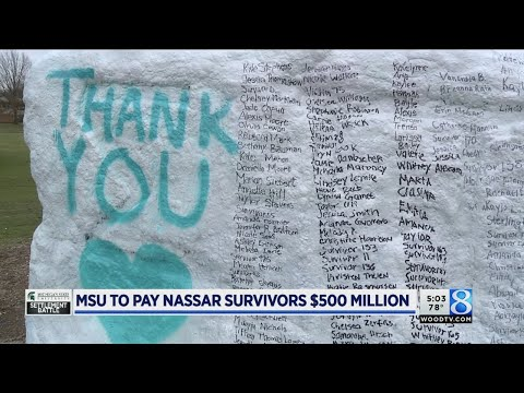 Michigan State and Nassar survivors reach $500M settlement