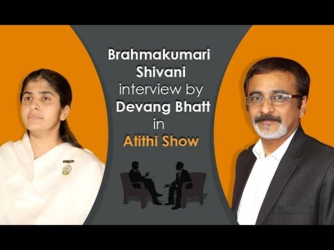 Exclusive interview with Brahmakumari Shivani Didi by Devang Bhatt