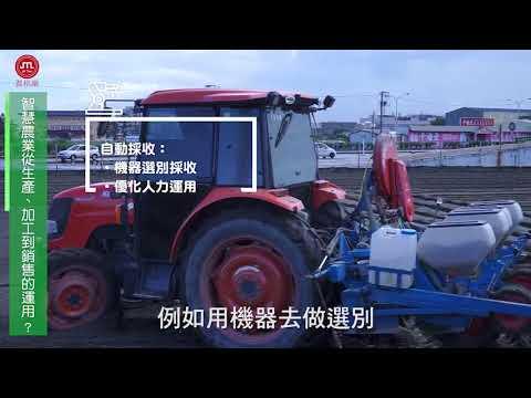 智慧農業產業介紹