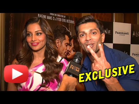 Video EXCLUSIVE! Bipasha Basu And Karan Singh Grover MOST CANDID INTERVIEW! | Alone download in MP3, 3GP, MP4, WEBM, AVI, FLV January 2017