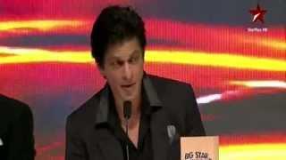 Video Shahrukh Khan insults Big Star Award Trophy MP3, 3GP, MP4, WEBM, AVI, FLV Mei 2018