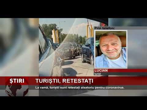 Turiștii români, retestați pentru coronavirus la Vama Kulata-Promachonas