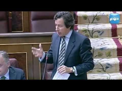 Carlos Floriano pregunta al ministro de Industria por los planes del Gobierno sobre el desarrollo de la energía renovable