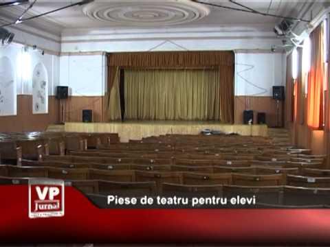 Piese de teatru pentru elevi