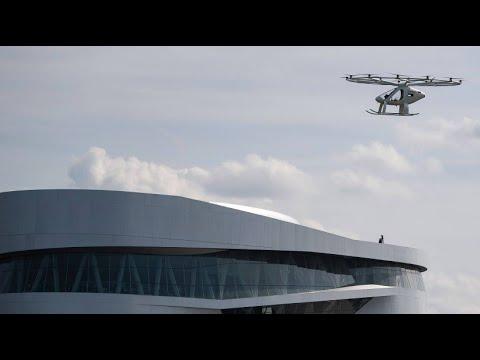 Elektrisch betriebenes Flugtaxi: Volocopter-Lufttaxi  ...