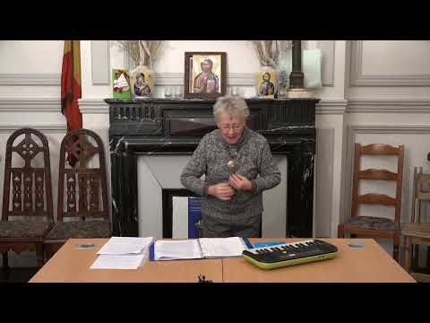 CDS Paris, 23 janvier 2020: Hélène Sejournet - Mémorisation de l'évangile