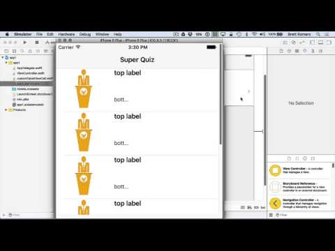 Learn To Build Your First Professional iOS App - Table View in iOS