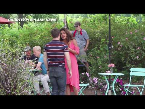 Priyanka Chopra Wardrobe Malfunction With Adam Devine