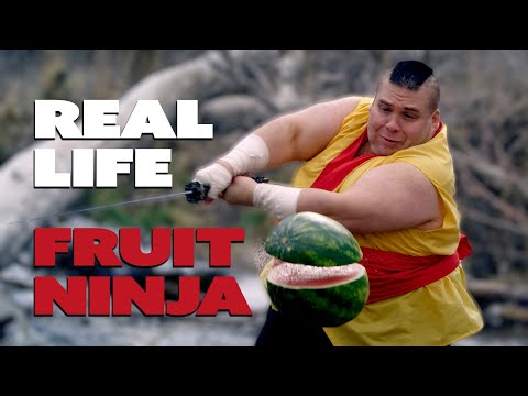 Awesome Fruit Ninja trailer