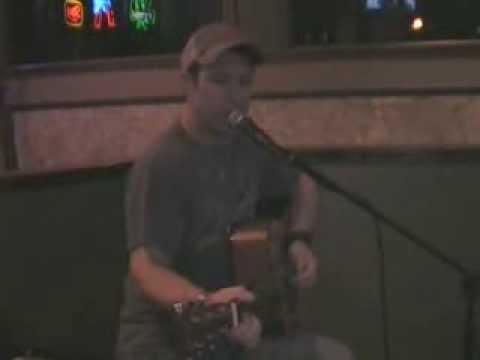 Brandon Salter sings