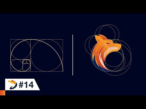 Adobe Illustrator Tutorial | Fox Logo Design Using Golden Ratio