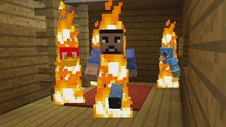 Minecraft Xbox - Burning House 2 - Mini-Game