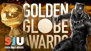 Black Panther Best Picture! Golden Globe Nominations 2018! - SJU by Clevver Movies