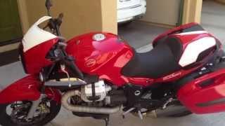 9. 2008 Moto Guzzi Breva 1200 Sport startup