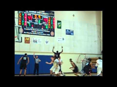 Art U-NDNU Men's Basketball Highlights - Feb 2, 2012