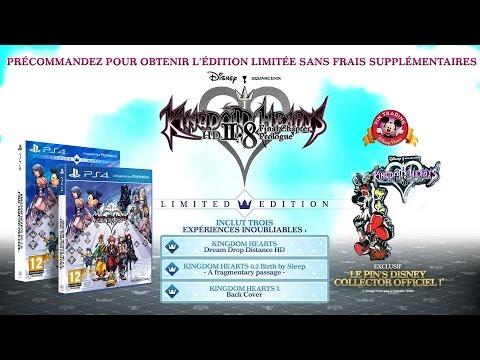 Kingdom Hearts HD 2.8 - bonus de précommande