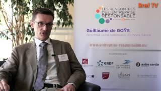 Rencontres RSE : Guillaume de Goÿs, Carbone Savoie