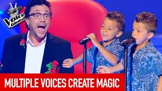Video The Voice Global | MAGICAL VOICES in The Blind Auditions MP3, 3GP, MP4, WEBM, AVI, FLV Oktober 2017