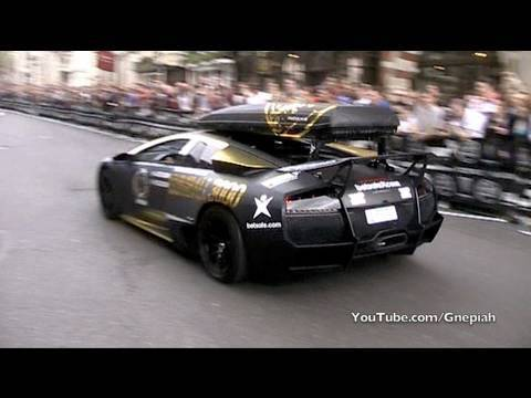 2010 - Watch the start of the Gumball 3000 Rally 2010 in Pall Mall - London! This is a video of the start with a lenght of 17 minutes! Don't forget to subscribe, ra...