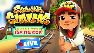 The Subway Surfers have teamed up with Noon and are now back in beautiful Bangkok! Keep an eye out for live streams from the new updates on our Facebook page: https://www.facebook.com/KilooGames/Join the Subway Surfers World Tour in Bangkok! Download for free on Android, iOS, Windows 10 and Kindle Fire right here: http://bit.ly/SubSurfFBSubway Surfers World Tour - Bangkok:★ The Subway Surfers are going to Thailand★ Surf among floating markets and golden statues in beautiful Bangkok★ Shine up your cast with an elegant new Outfit for Noon★ Upgrade the Turtle board and get a sparkly trail of bubbles★ Buy Boosts and Hoverboards during a run to always be prepared for the next challengeDownload for FREE on:Android:http://bit.ly/SubSurf_GooglePlayiOS:http://bit.ly/SubSurf_AppStoreWindows 10:http://bit.ly/SubSurf_WPstoreKindle Fire:http://bit.ly/SubSurf_Amazon