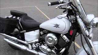 5. 2009 Yamaha V-Star 650 Classic stock #9-8512 demo ride & walk around