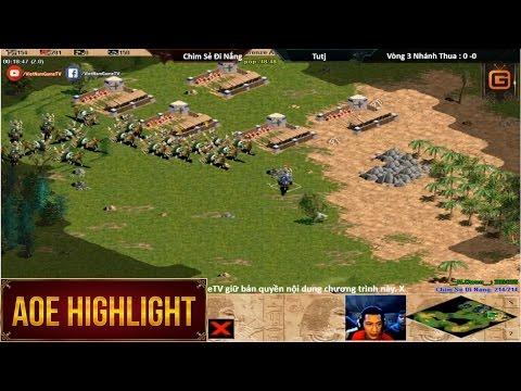 AOE HighLights - Lên đời muộn nhưng Chim Sẻ vẫn biết cách dành chiến thắng trước TuTj