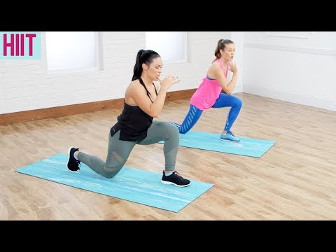 HIIT Workout for Beginners (Dance Fitness with Jessica x POPSUGAR Fitness)