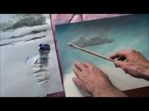 Malen mit Acryl: Wolken (Teil 2/2)