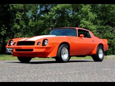 1980 Chevrolet Camaro – Z/28 Trim – Cool Muscle Car – Future Classics LLC