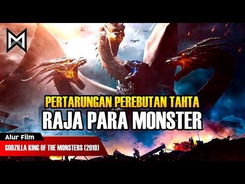 PERTARUNGAN PEREBUTAN TAHTA RAJA PARA MONSTER | ALUR FILM GODZILLA KING OF THE MONSTERS (2019)
